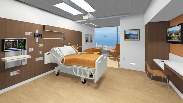 FIRST LOOK: University of Vermont Medical Center's Robert E. and Holly D. Miller Building