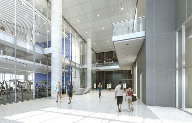 FIRST LOOK: Sports Therapy and Research Center At The Star