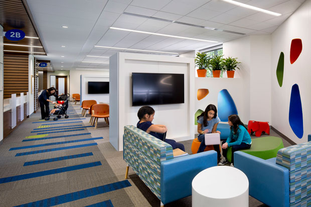 PHOTO TOUR: Stanford Children's Health Specialty Services—Sunnyvale