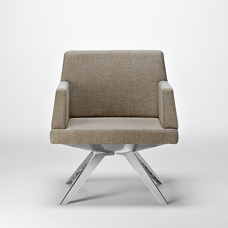 Farrah from National Office Furniture seating, tables