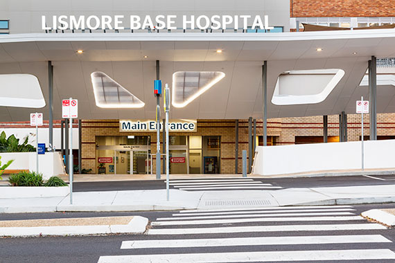 PHOTO TOUR: Lismore Base Hospital