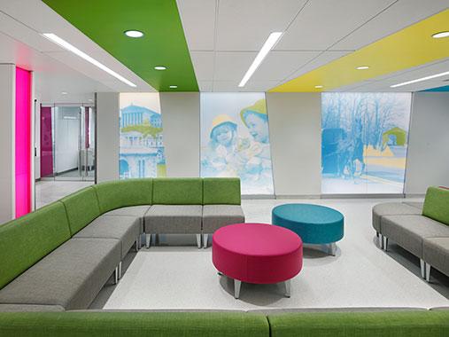 Uplifting Design At St. Christopher's Hospital For Children