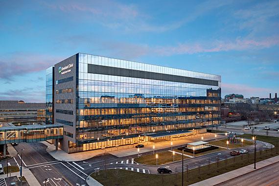 PHOTO TOUR: Cleveland Clinic Taussig Cancer Center