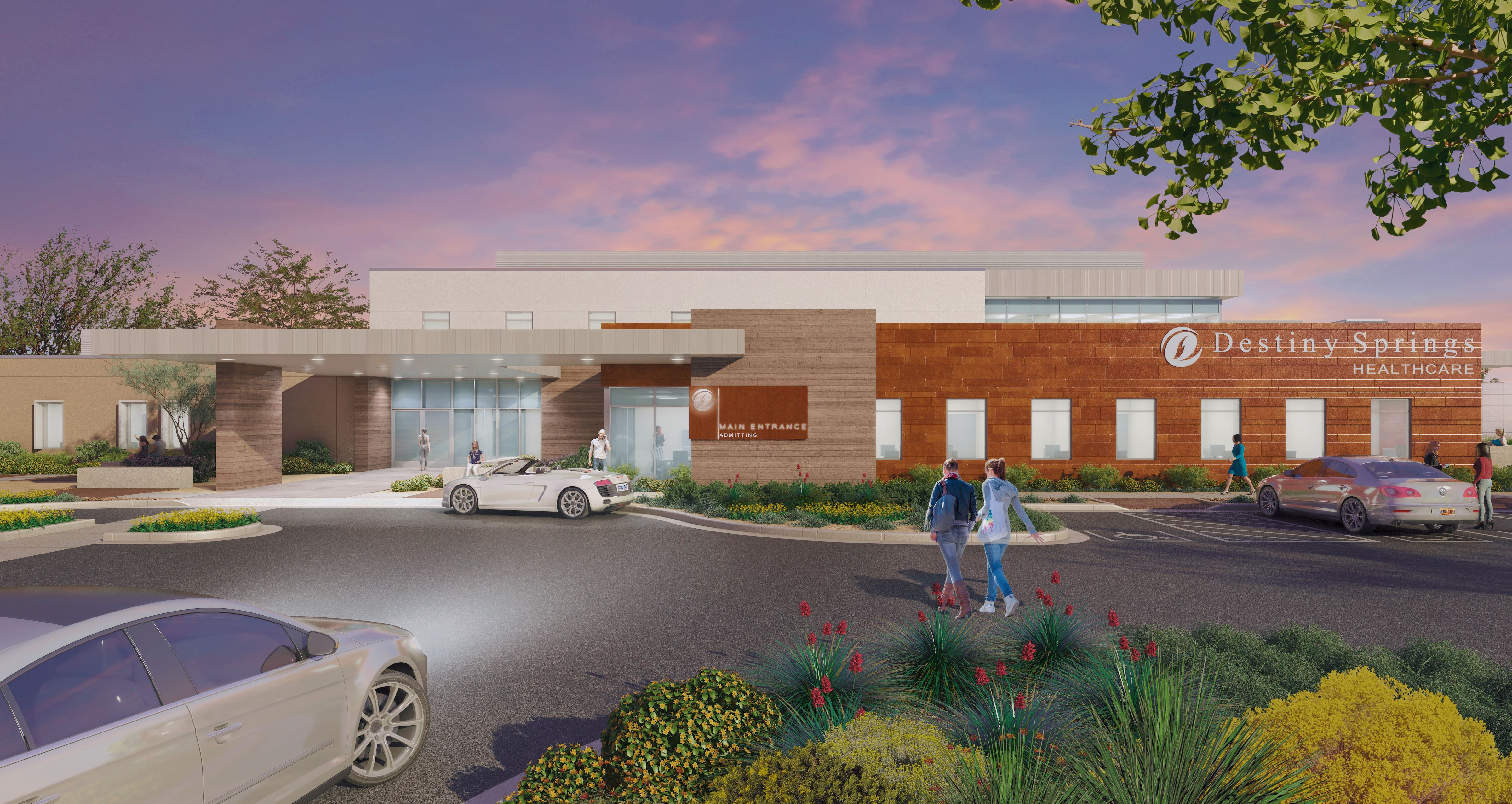 MedProperties And Caddis To Develop Behavioral Health Hospital
