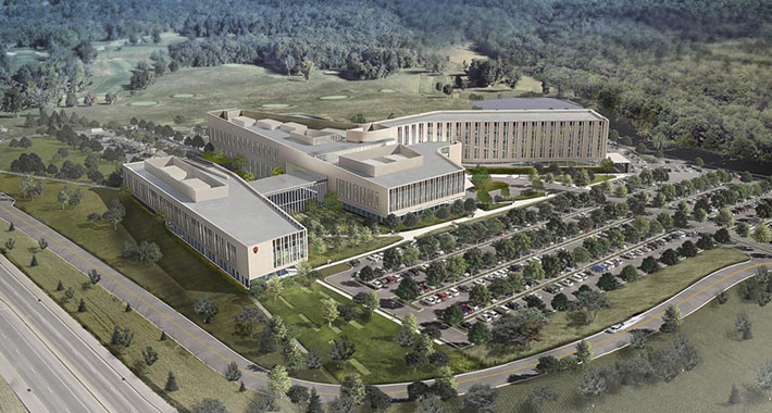 IU Trustees Approve New IU Health Bloomington Hospital Design