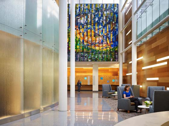 Remodel/Renovation Finalist 2017: Mary Bird Perkins Our Lady of the Lake Cancer Center (Cancer Care)