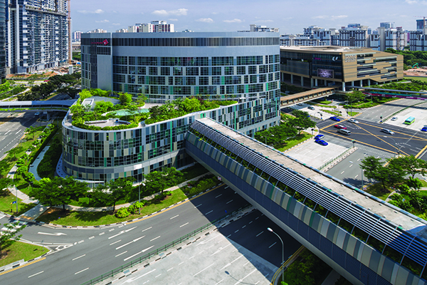Breath Of Fresh Air: Ng Teng Fong General Hospital And Jurong Community Hospital