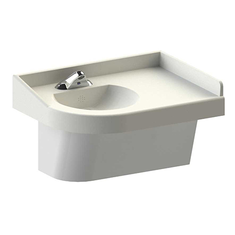 Beau The Ligature Resistant Corner Sink From BestCare, Part Of Whitehall  Manufacturing, Features A Universal Design That Can Be Used In Healthcare,  Addiction, ...
