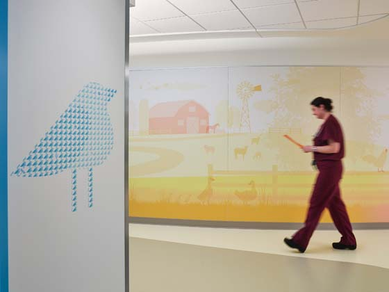 PHOTO TOUR: University of Iowa Hospitals and Clinics, Stead Family Children's Hospital