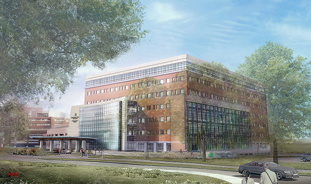 Christiana Care Health System Tops Out New Center For Women And Children's Health